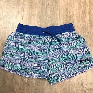 Patagonia Athletic Blue Print Shorts